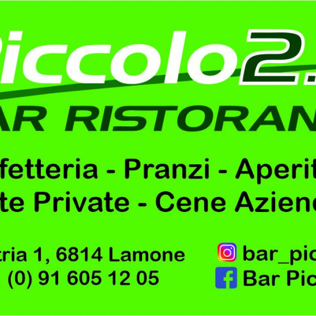 Bar Piccolo 2.0